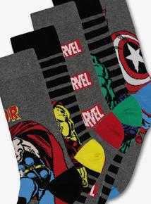 419f2fca7b4 Marvel Multicoloured Character Ankle Socks 5 Pack