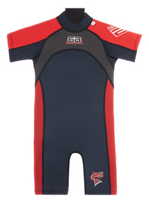 Kids Red Short Wetsuit (3-12 years)