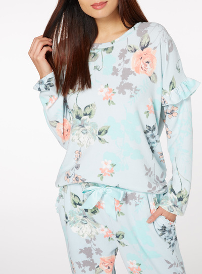 Supersoft Long sleeve Pyjama Top
