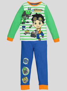 Multicoloured Rusty Rivets Pyjamas (1-7 years)