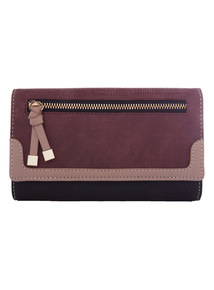 Berry Panel Purse