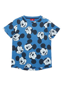 Boys Blue Mickey Mouse Top (9 months - 6 years)