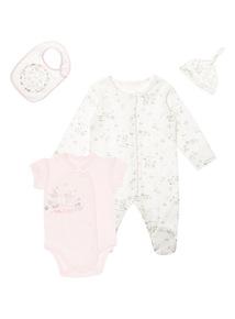 Pink Bunny Starter Set (0-12 months)