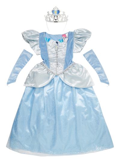 dd7970bb07ce Fancy Dress Kids Disney Cinderella Princess Costume (3-10 years ...