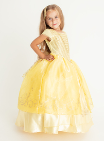 Disney Princess Belle Yellow Costume (3-10 years)