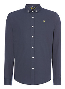 Admiral Navy Oxford Shirt
