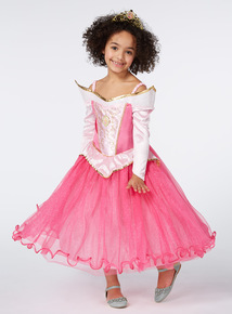 Girls Pink Sleeping Beauty Disney Costume (2 - 10 years)
