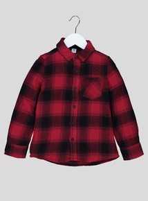 Red & Black Checked Shirt (3-14 Years)