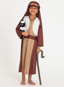 Christmas Nativity Shepherd With Sheep Costume (3-10 years)