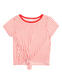 White Striped Top (3 - 12 years)