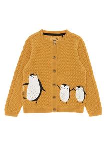 Girls Yellow Story Cardigan (9 months-5 years)