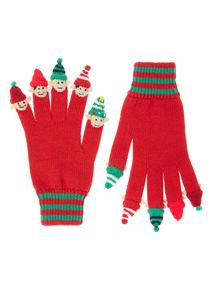 Elf Christmas Gloves