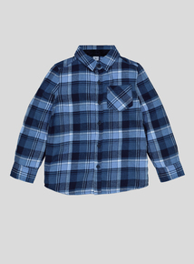Blue Check Shirt (3-14 years)