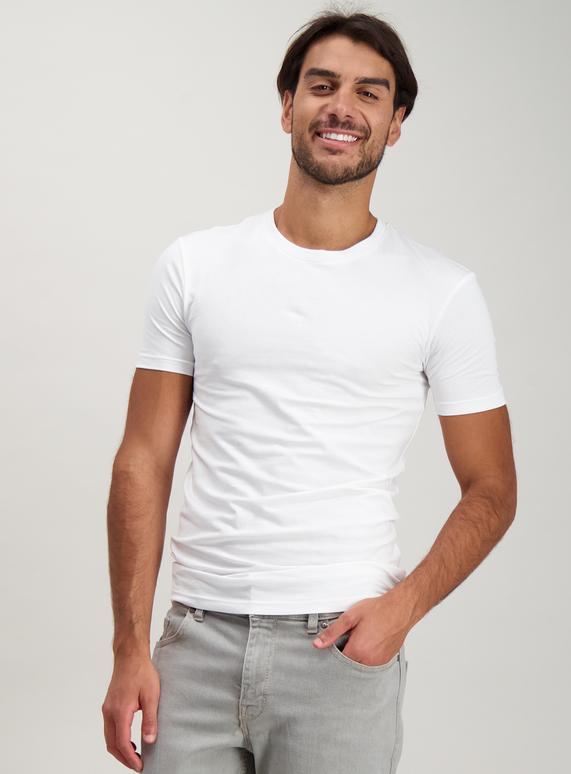 cd8e4b4a Menswear White Muscle Fit T-Shirt | Tu clothing