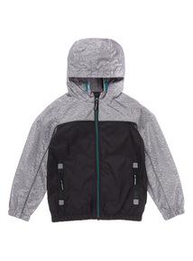 Grey Colour Block Jacket (3 - 14 years)