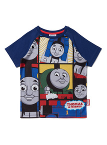Multicoloured Thomas The Tank Engine Print T-Shirt (9 months-6 years)