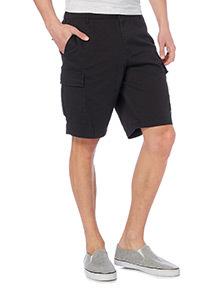 Black Cargo Shorts