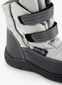 Grey Snow Boots (Infant 4-2)