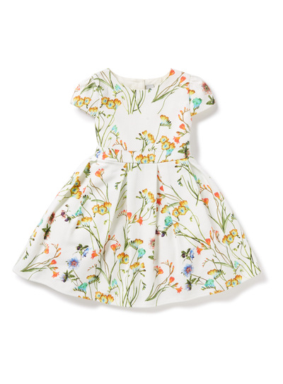 Girls Multicoloured Floral Dress (9 months-6 years)