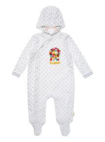 White Kids Elmer Snugglesuit (0-18 months)
