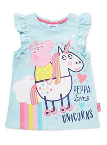 Blue Peppa Pig T-Shirt (9 months - 6 years)