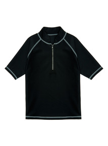 Black Rash Vest (4 - 14 years)