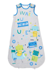 Multicoloured Robot 1.5 Tog Sleep Bag (0-24 months)