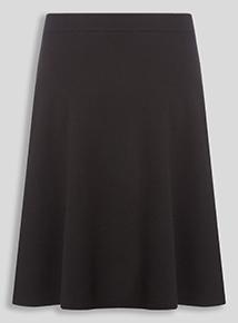Girls Black Skater Skirt (10-16 years)