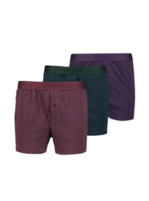 Multicoloured Jersey Boxer 3 Pack