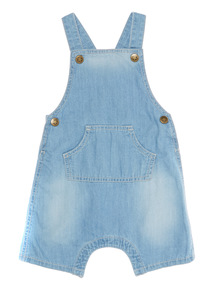 Denim Bibshort (0 - 24 months)