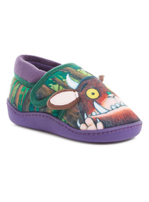 Multicoloured Gruffalo Slippers (4 Infant-12 Infant)
