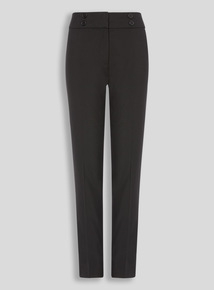 Black Longer Leg Trousers (10-16 years)