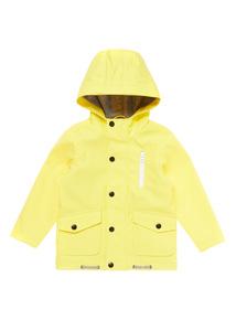 Boys Yellow Fisherman Jacket (9 months-6 years)