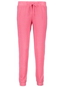 Pink Brushed Striped Pyjama Bottom