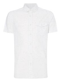 White Slub Shirt