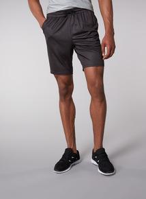 Admiral Charcoal Printed Shorts