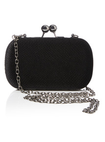 Velvet Box Party Clutch Bag