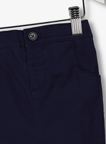 Navy Chino Trousers (0-24 months)