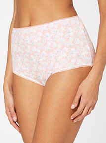 Floral Full Briefs 5 Pack