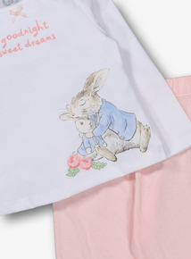 aeff2109e Peter Rabbit Pink Pyjamas 2 Piece Set (Newborn - 24 Months)