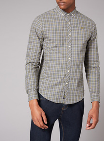 Admiral Grey and Green Tartan Shirt