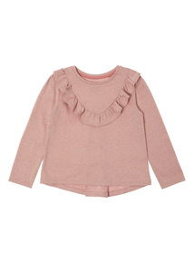 Pink Ruffle Top(9 months-6 years)