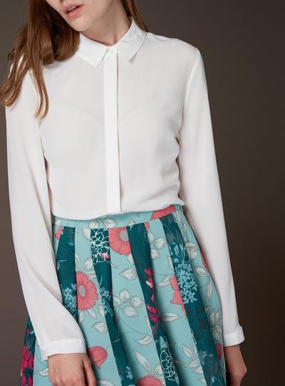 Premium Plain Silk Shirt