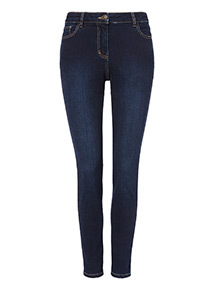 Dyed Skinny Jeans