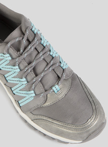 Grey Sole Comfort Hiker Trainers