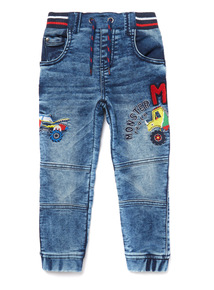 Denim Tractor Jeans (9 months- 6 years)