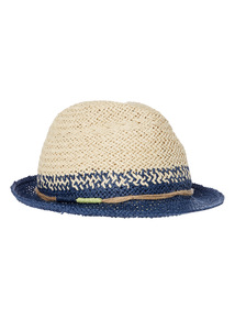 Multicoloured Weave Trilby Hat (1-13 years)
