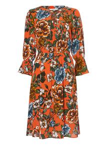 Printed Heritage Dress