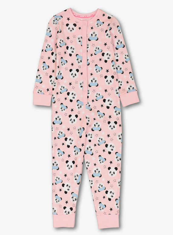 a1d34be59 Kids Pink Sleepy Panda All In One (2 - 12 years)