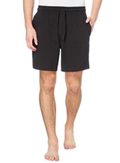 Mens Black Amp Grey Pyjama Shorts 2 Pack Tu Clothing